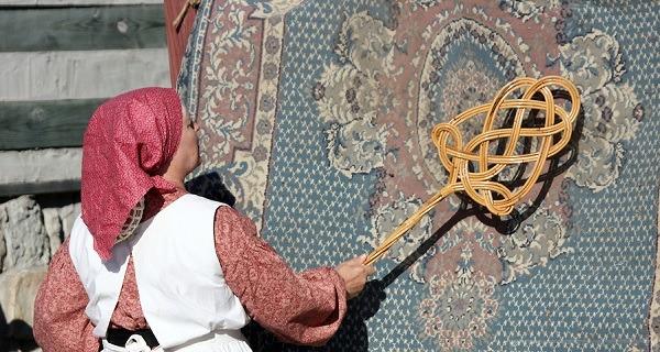 خدمات خاک گیری فرش در مشهد