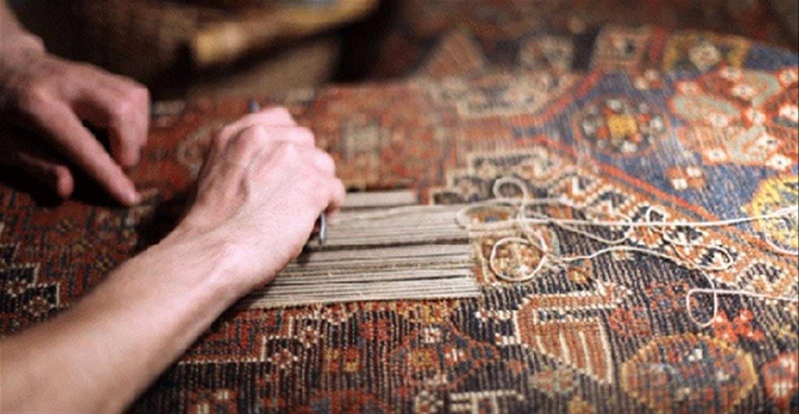 ترفندهای رفوی فرش