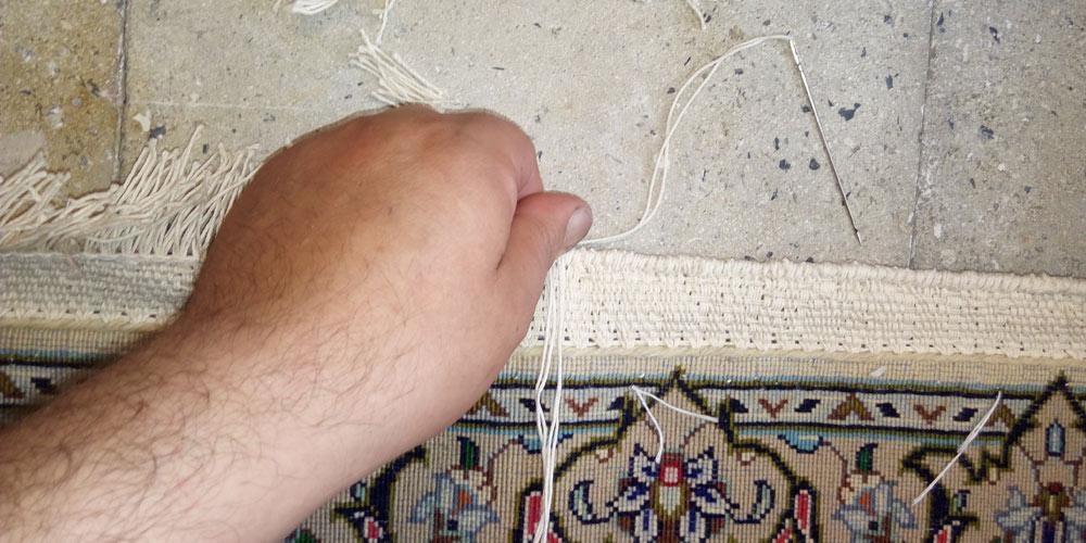خدمات ریشه دوزی فرش در مشهد