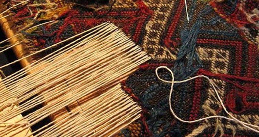 خدمات ریشه دوزی فرش در قالیشویی مشهد