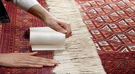 خدمات ریشه دوزی فرش