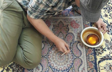 ترفندهای رنگ برداری تخصصی فرشهای دستباف