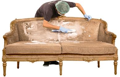 شستشو انواع مبل در قالیشویی مشهد