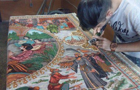 خدمات پرداخت فرش در بهترین قالیشویی درمشهد